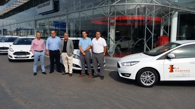 Plaza Motor Ford Montalt Entrega Una Flota De Diez