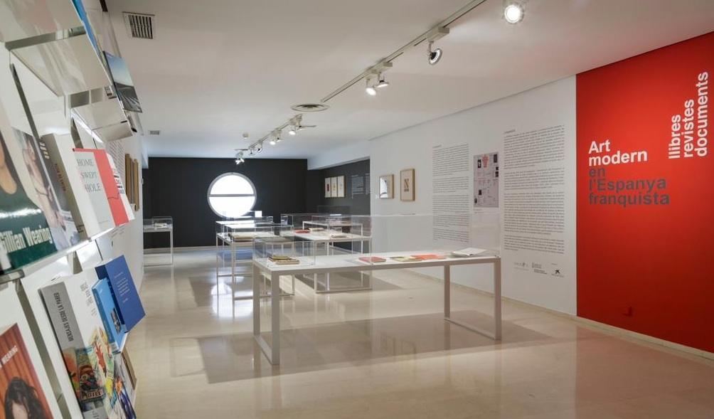 El ivam reconvierte unas oficinas en la sala de for Material de oficina en valencia