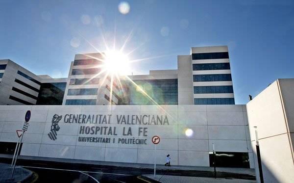 La fe de valencia s ptimo mejor hospital p blico de - Hospital nueva fe valencia ...
