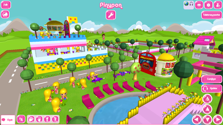 Famosa Entra En El Mundo Virtual Con Pinypon Play World Un Juego