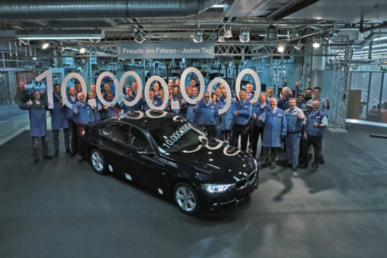 Bmw Fabrica La Unidad 10 Millones Del Bmw Serie 3 Berlina