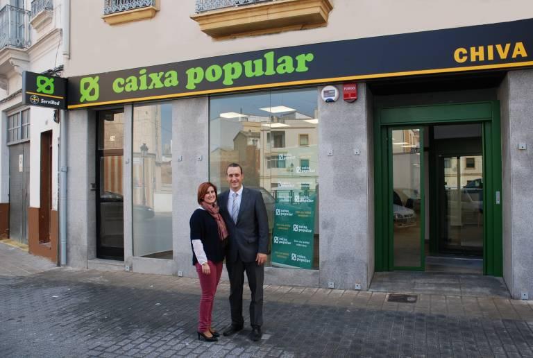 Caixa popular abre una nueva oficina en chiva valencia plaza for Oficinas la caixa en valencia