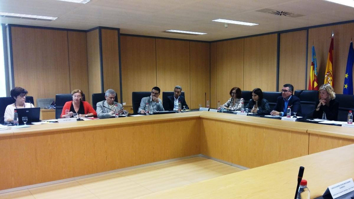 El consell y sindicatos proponen un aumento del 1 en los for Mesa funcion publica