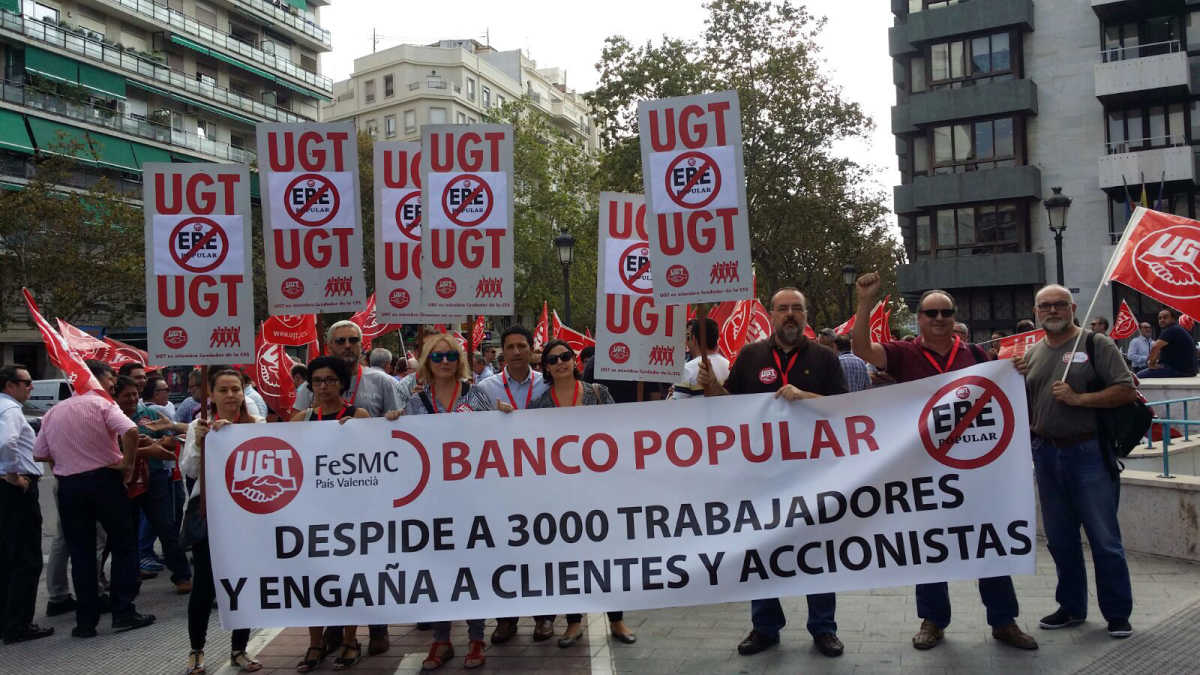 Banco popular cierra 26 oficinas en la comunitat for Banco popular e oficinas