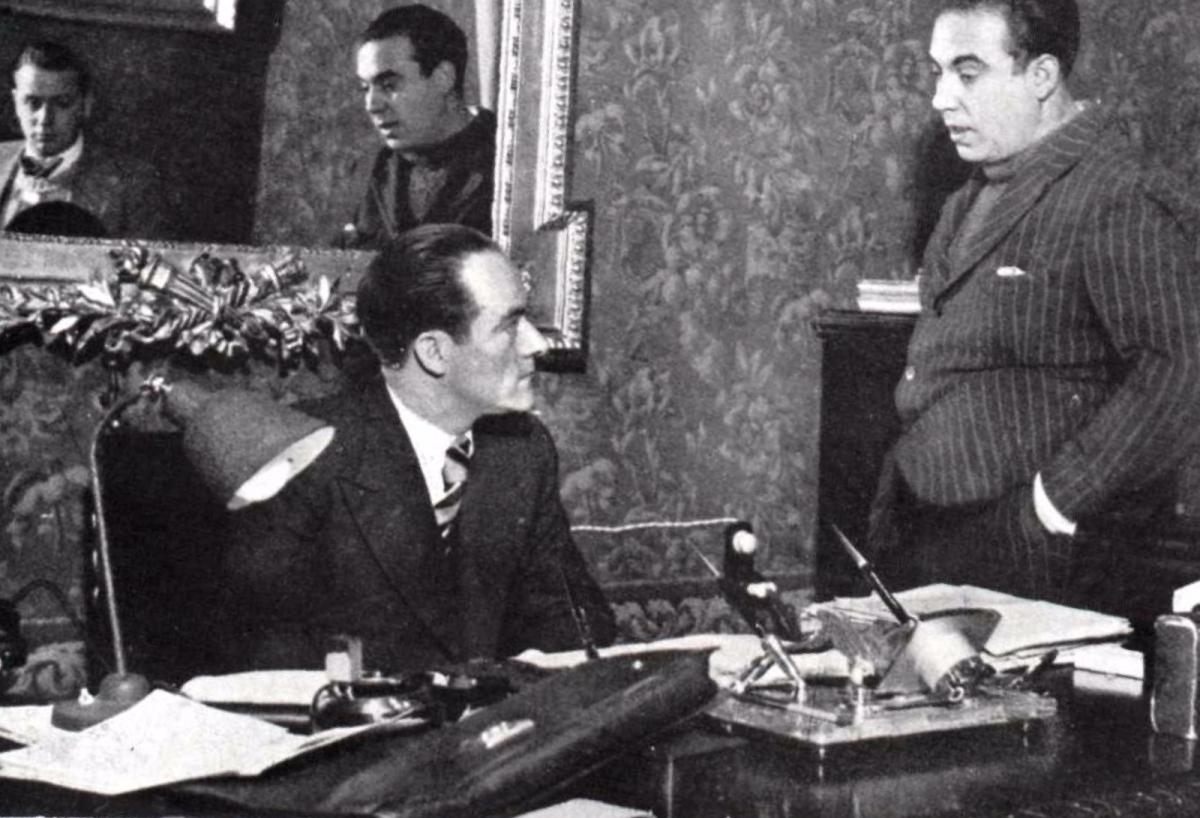 Foto de 'Mi Revista Barcelona', publicada en 1937 y extraída del fondo de la Biblioteca Nacional