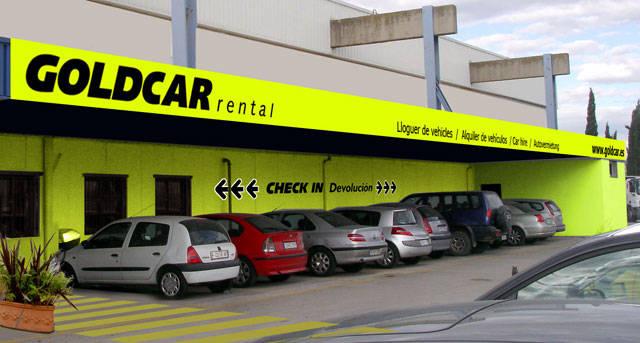 Goldcar logra un contrato para operar en el aeropuerto de for Oficinas mercadona barcelona