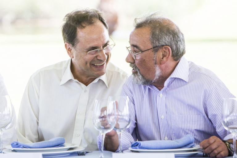 Vicent Soler y José Vicente González. Foto: EVA MÁÑEZ