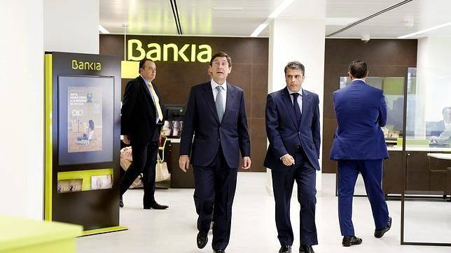 Bankia cierra la primera oficina de bancaja ubicada en el for Bankia horario oficina