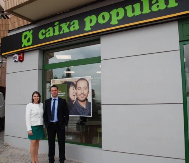 caixa popular abre una nueva oficina en sagunto valencia