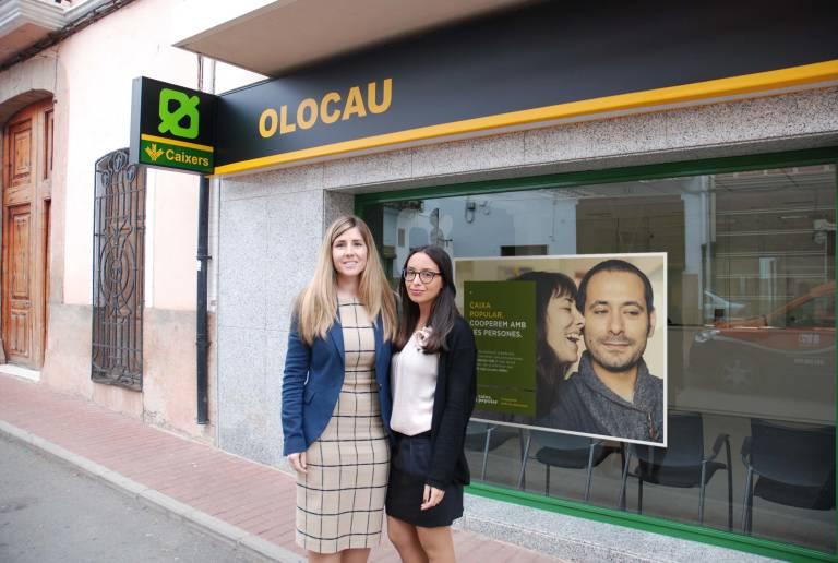 Caixa popular abre una nueva oficina en olocau y ya van for Oficinas la caixa en valencia
