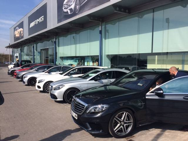 plaza motor la caravana de dream cars de mercedes llega