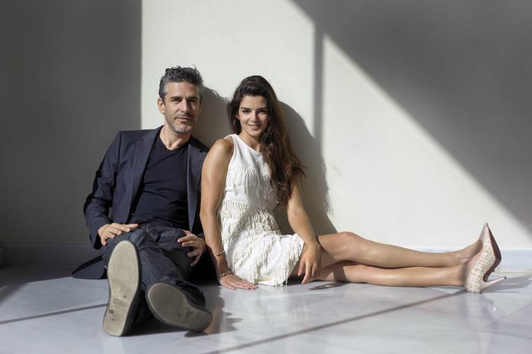 Leonardo Sbaraglia Y Su Mujer