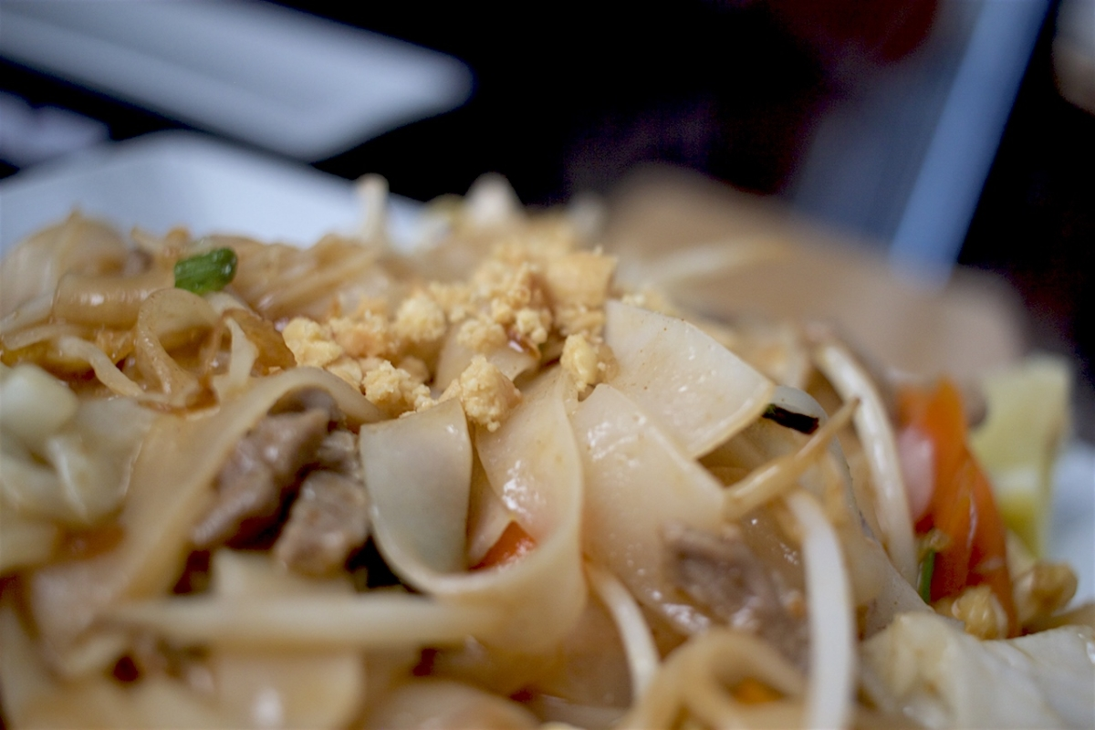Pad Thai de ternera...