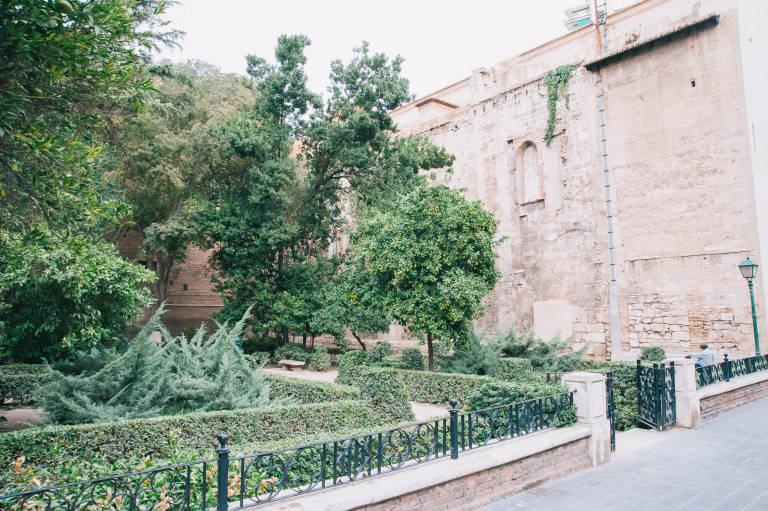 El jard n olvidado de val ncia valencia plaza for El jardin olvidado