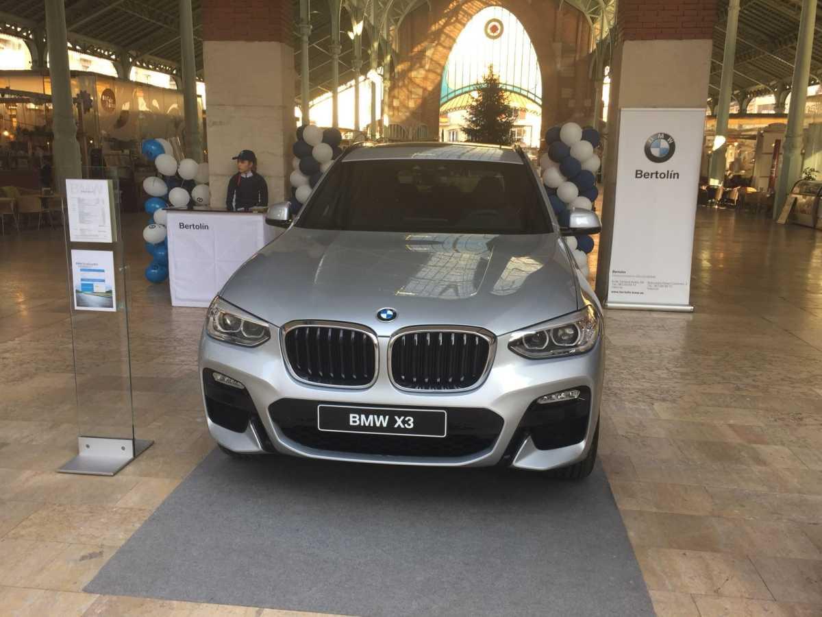 Plaza Motor Bertol N Con El Bmw X3 En El Mercado De