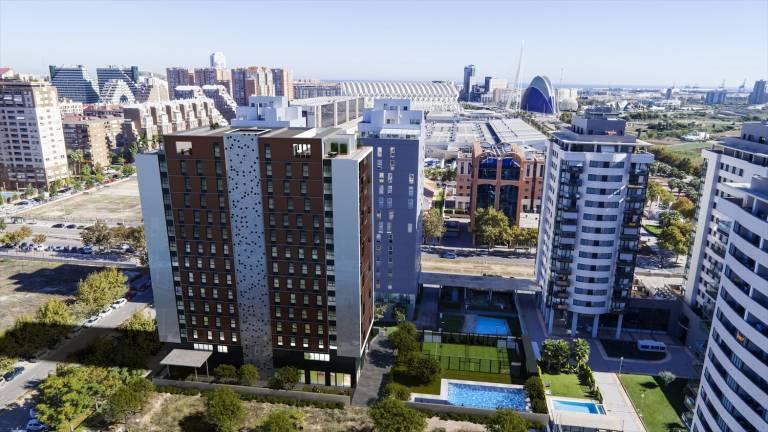 La promotora aedas desembarca en val ncia con la construcci n de 280 viviendas valencia plaza - Empresas construccion valencia ...