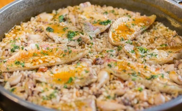 Donde comer arroz en Peñiscola