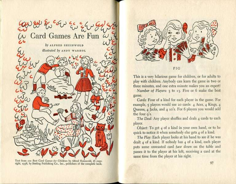'Best in Children's Books #15', 1958. Andy Warhol