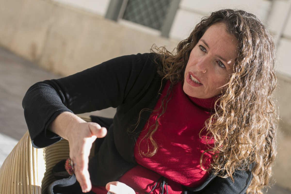 Gascó durante la entrevista. Foto: EVA MAÑEZ