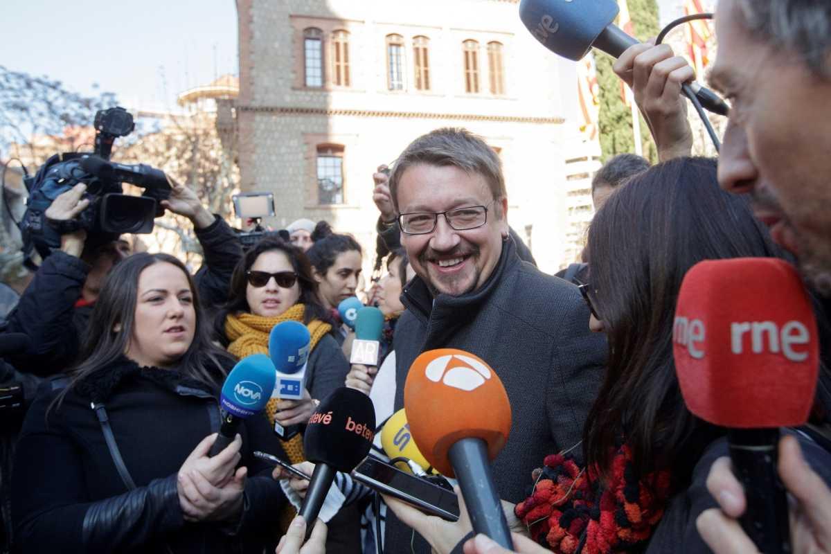 Xavier Domènech, candidato de Catalunya en Comú. Foto: EFE