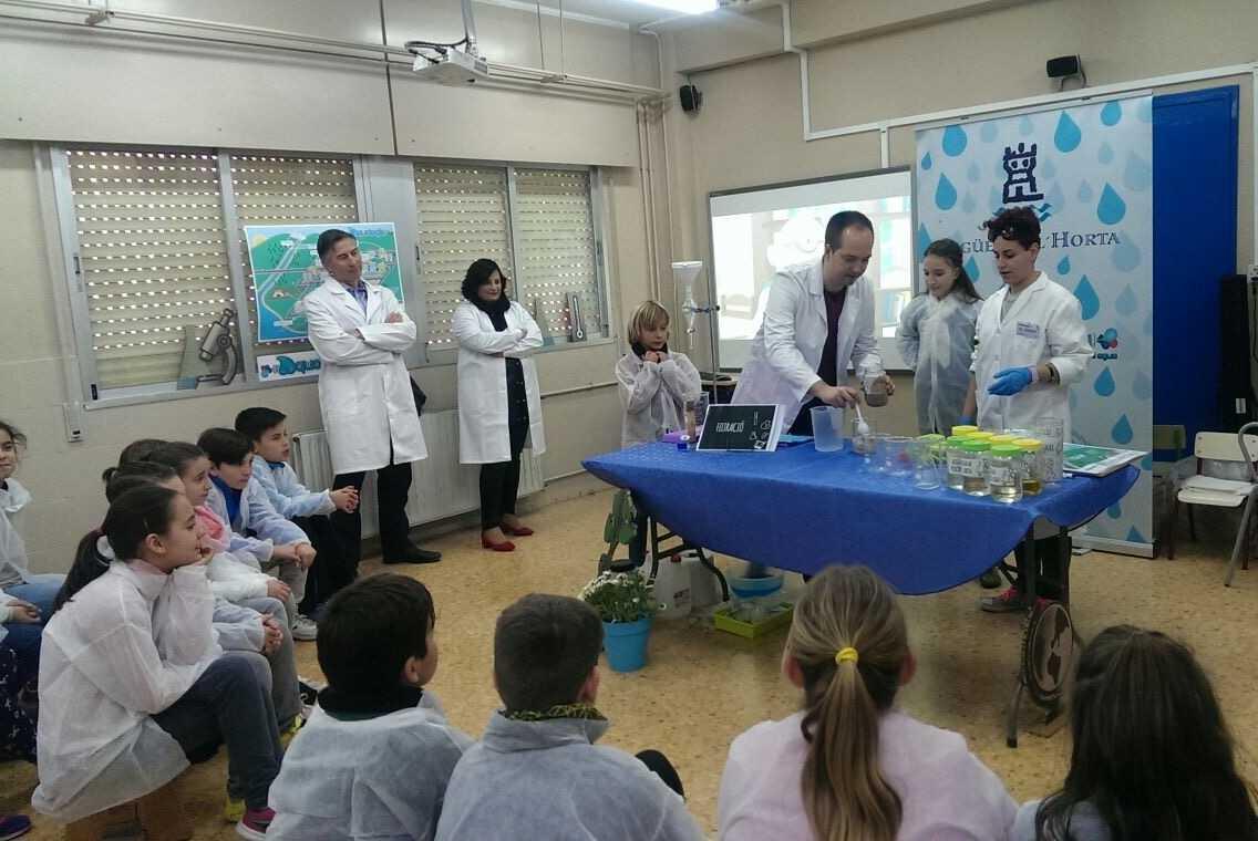 Aig es de l horta lanza la campa a 2017 de educaci n - Empresas de comedores escolares valencia ...