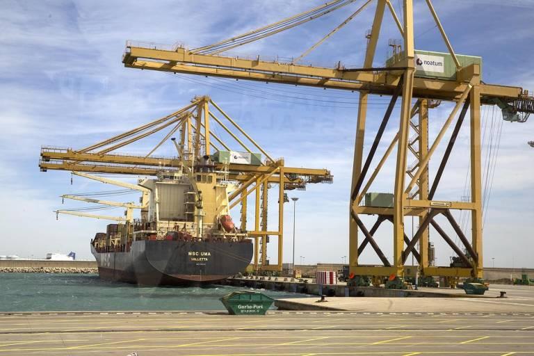 Las empresas de la estiba denuncian actos vand licos en - Laydown puerto valencia ...