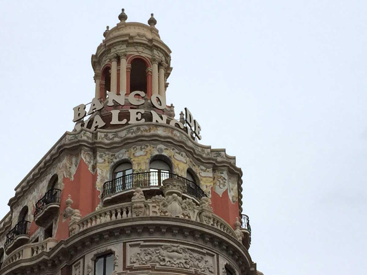 Vpconfidencial la sede hist rica del banco de valencia for Oficinas caixabank valencia