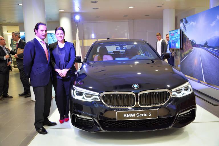 Plaza Motor Bertolin Presenta El Nuevo Bmw Serie 5