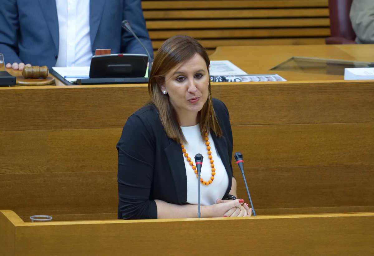 La diputada del PP en Les Corts y exconsellera de Educación, María José Catalá. Foto: CORTS