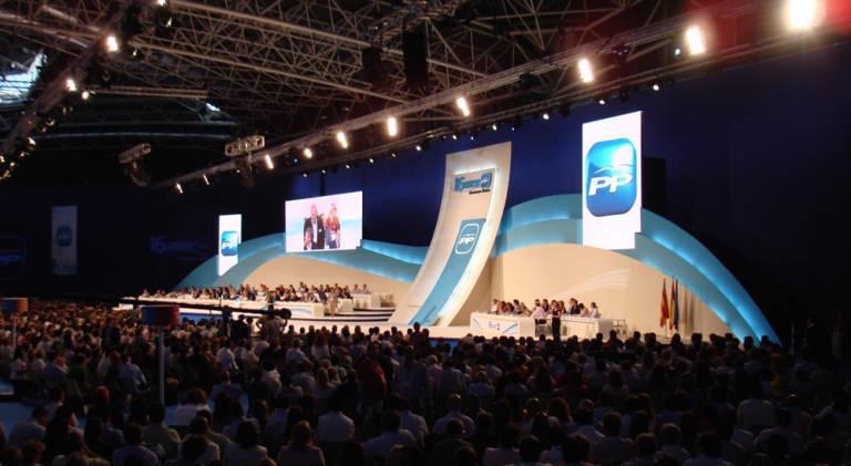 Imagen del congreso del PP en Feria Valencia