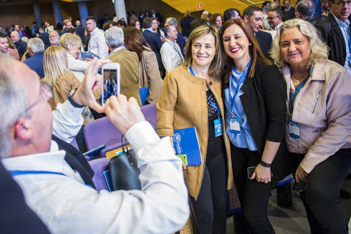 Elena Bastidas, María José Catalán y María José Ferrer Sansegundo. Foto: EVA MÁÑEZ