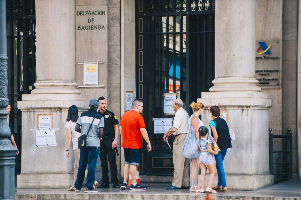 La agencia tributaria mantendr una oficina en el centro for Oficina tributaria madrid