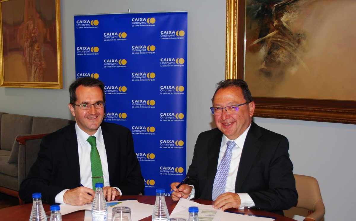Iberdrola suministrar a caixa ontinyent energ a 100 for Iberdrola oficinas valencia