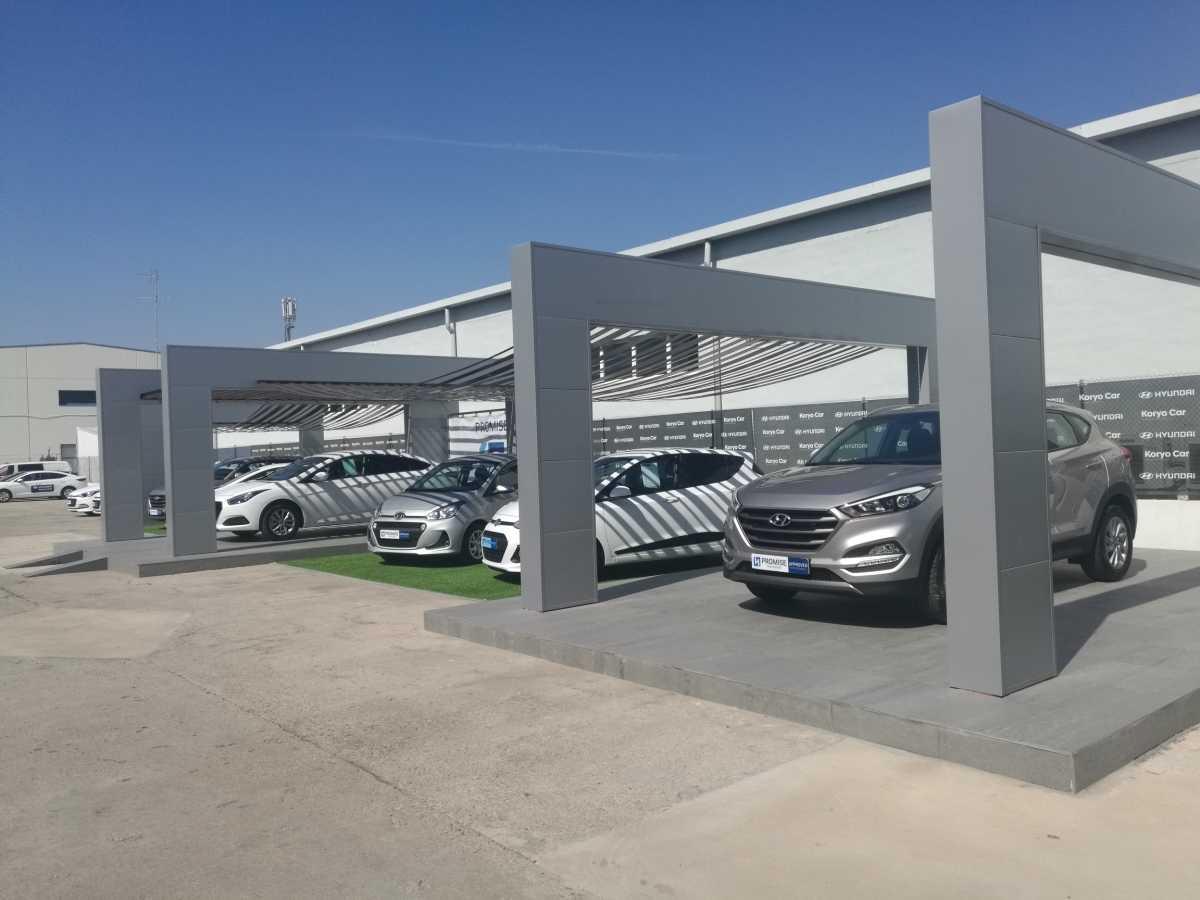 Plaza motor hyundai koryo car inaugura nuevas - Toyota pista silla ...