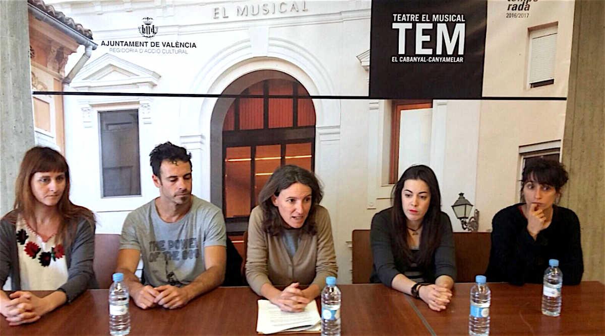 El musical se convierte en la sede de cuatro asociaciones for Convenio colectivo oficinas y despachos valencia 2017