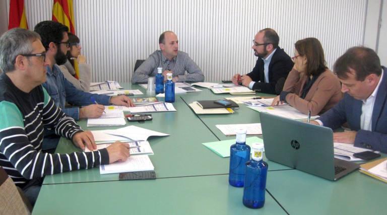 Negociaciones sobre el SDDR entre la Conselleria y los empresarios