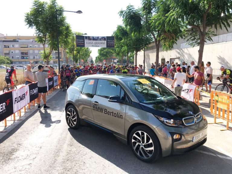 Plaza Motor Bertolin Con El Ciclismo Valenciano Motor