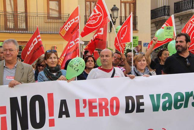 Vaersa eleva la presi n sobre el consell con for Convenio colectivo de oficinas y despachos valencia