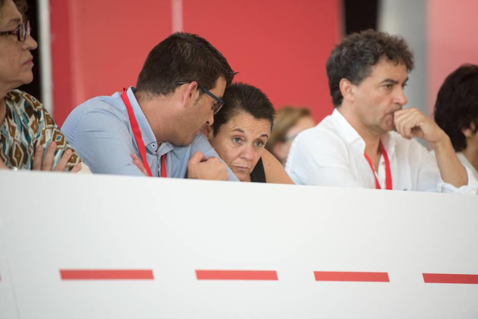 Jorge Rodríguez, Toñi Serna y Francesc Colomer. Foto: RAFA MOLINA