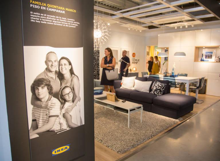 Ikea Alfafar crea los ambientes de la entrada junto a cinco