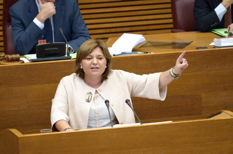 Isabel Bonig, presidenta y portavoz del PPCV