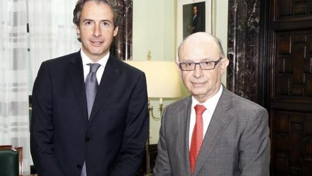 Íñigo de la Serna y Cristóbal Montoro, ministros de Fomento y Hacienda