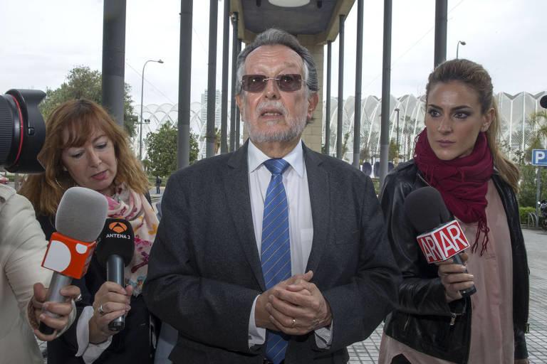 El exvicealcalde de València Alfonso Grau. Foto: MARGA FERRER