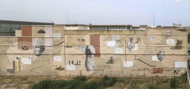 Valencia En La Pared Activistas Urbanos O Artistas Para Embellecer