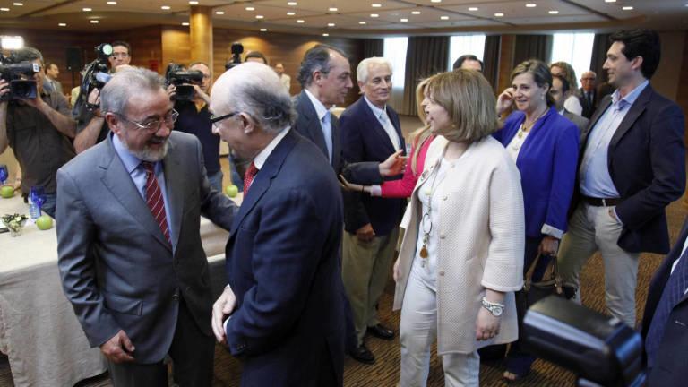 Bonig y Montoro junto a referentes empresariales como Salvador Navarro y José Vicente González