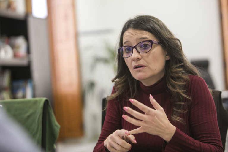 Mónica Oltra, vicepresidenta y consellera de Igualdad. Foto: EVA MÁÑEZ