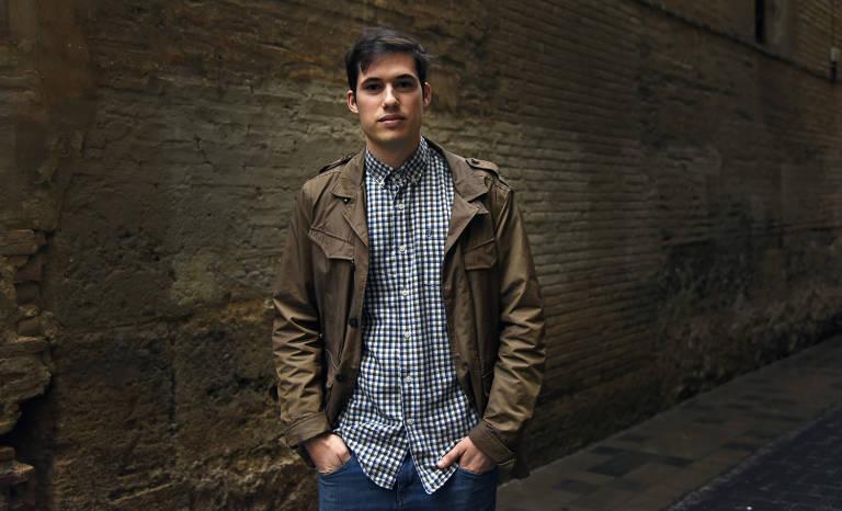 Borja Sanjuán. Foto: DANIEL GARCÍA-SALA