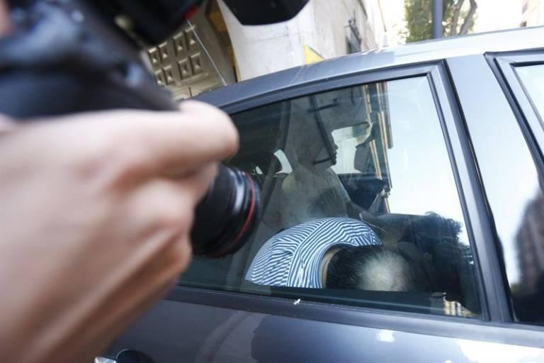 José Luis Olivas, el día de su detención en la operación Grand Coral. Foto: EFE