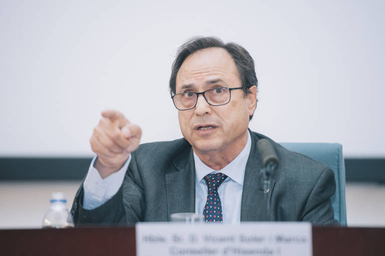 Vicent Soler, conseller de Hacienda. Foto: KIKE TABERNER