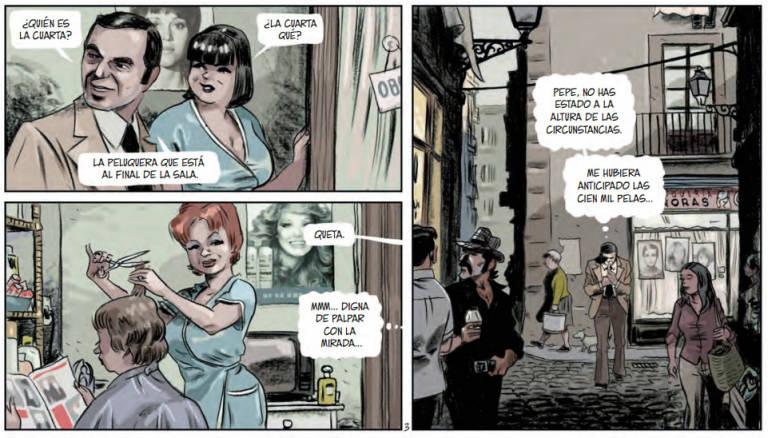 Tatuaje: cómic policiaco setentero en la Barcelona que ya no existe